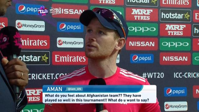 #AskCaptains England's Eoin Morgan