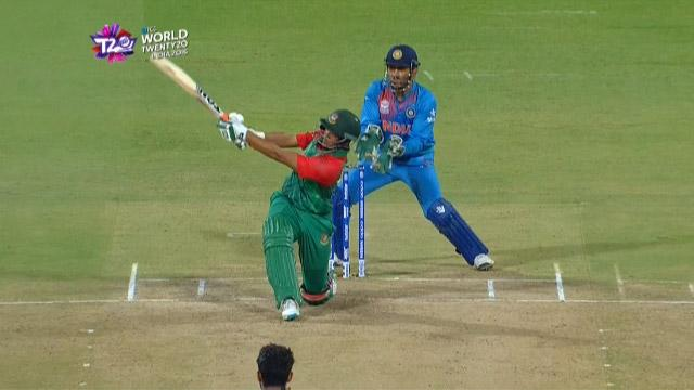 Cricket Highlights from Bangladesh Innings v India ICC WT20 2016