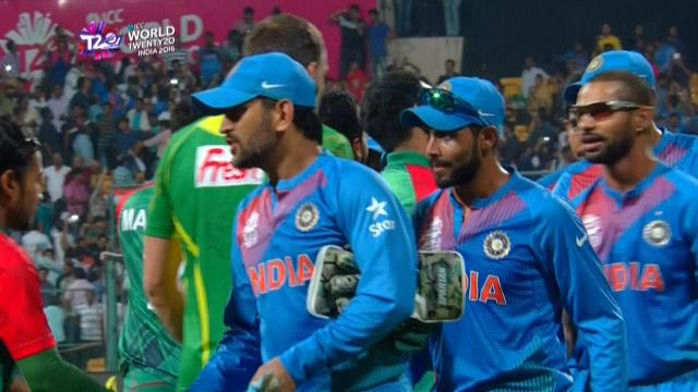 India holds nerve for thrilling one-run win