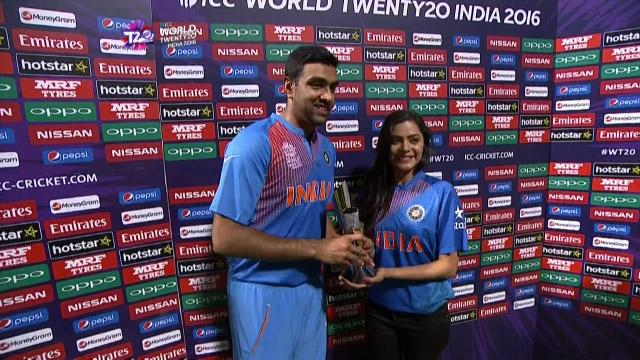 Player of the Match – Ravichandran Ashwin – IND v BAN