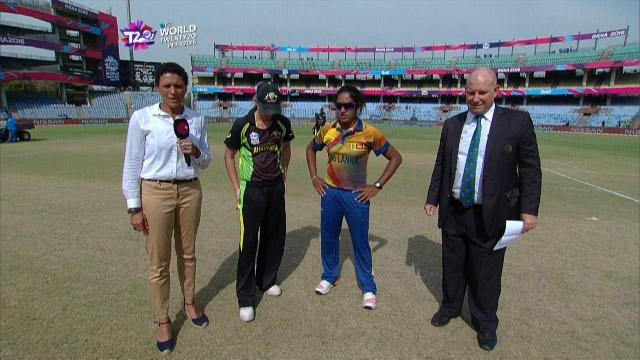 Sri Lanka wins Toss against India Match 13 ICC Womens WT20 2016