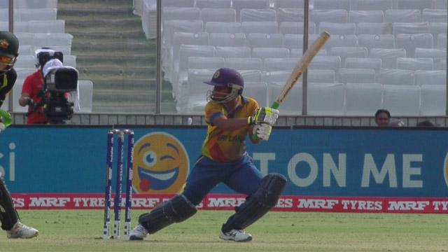 Sri Lanka Innings Super Shots v AUS ICC Womens WT20 2016
