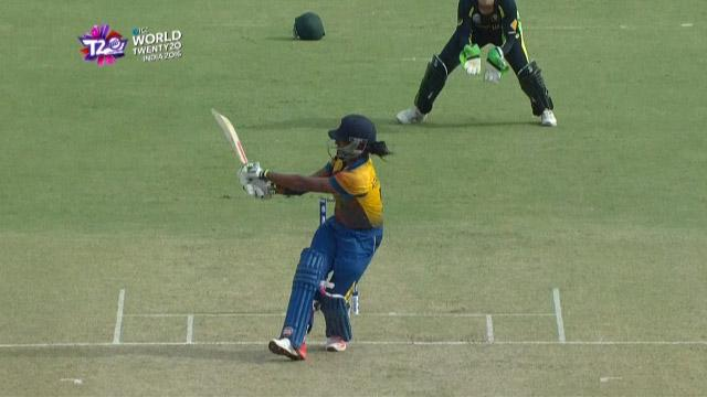 Cricket Highlights from Sri Lanka Innings v Australia ICC Womens WT20 2016