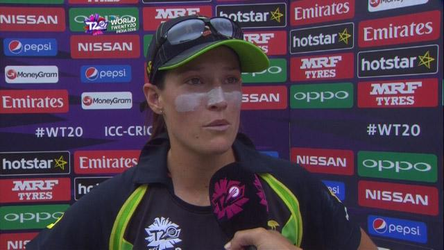 Megan Schutt Interview – AUS v SL