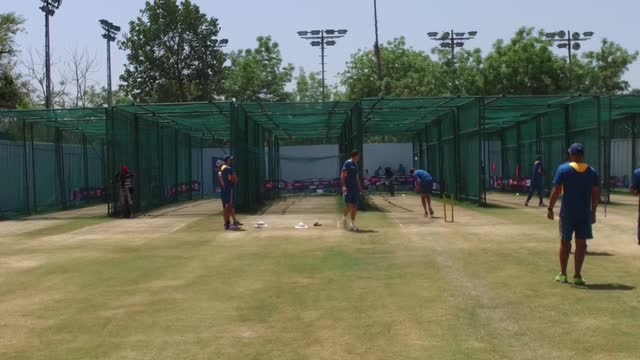 South Africa's net session