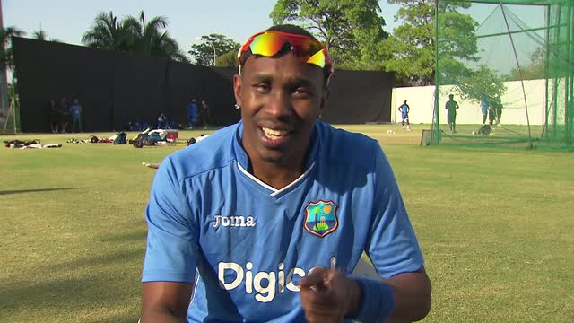 Watch Dwayne Bravo sing his song,