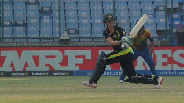 Meg Lanning Innings for Sri Lanka V Australia Video ICC Womens WT20 2016