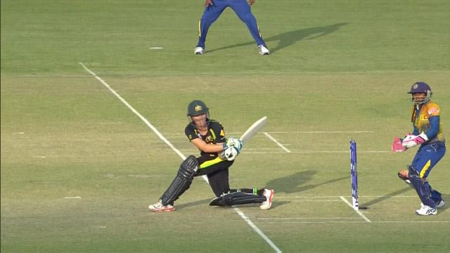 Australia Innings Super Shots v SL ICC Womens WT20 2016