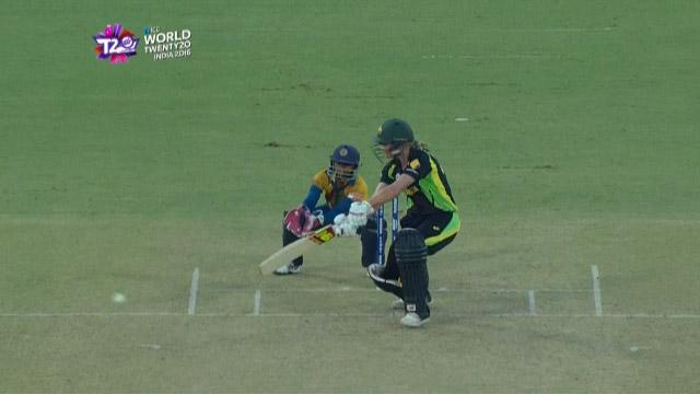 Cricket Highlights from Australia Innings v Sri Lanka ICC Womens WT20 2016