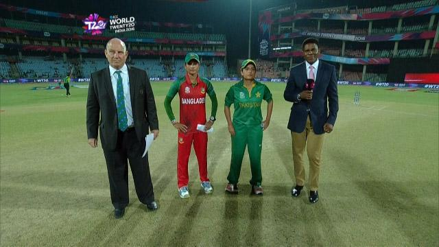 Bangladesh wins Toss against Pakistan Match 15 ICC Womens WT20 2016