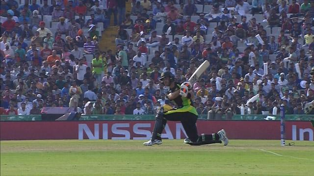 Glenn Maxwell Innings for Australia V Pakistan Video ICC WT20 2016