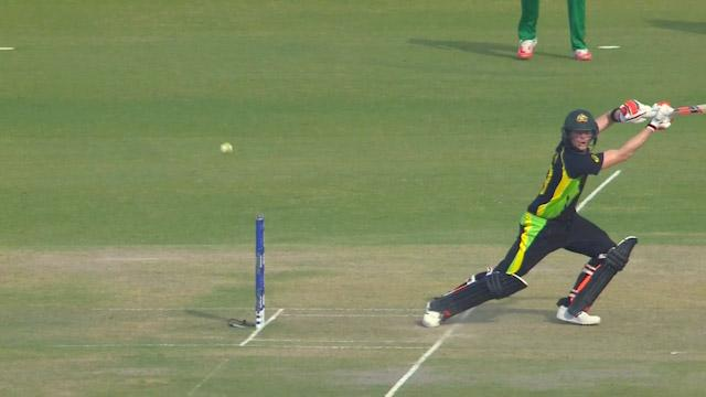 Steven Smith Innings for Australia V Pakistan Video ICC WT20 2016