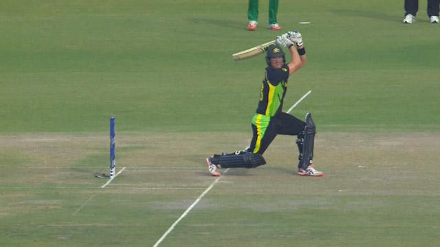 Shane Watson Innings for Australia V Pakistan Video ICC WT20 2016