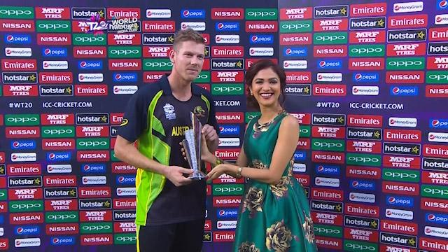 Player of the Match – James Faulkner – PAK v AUS