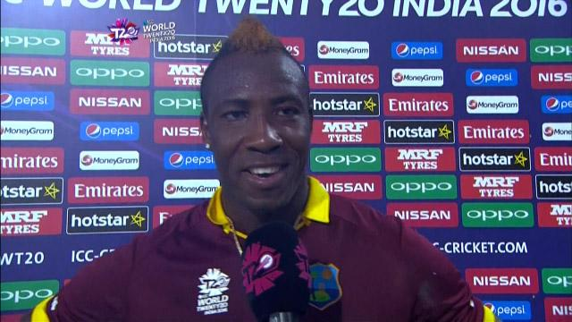 Andre Russell Interview – SA v WI