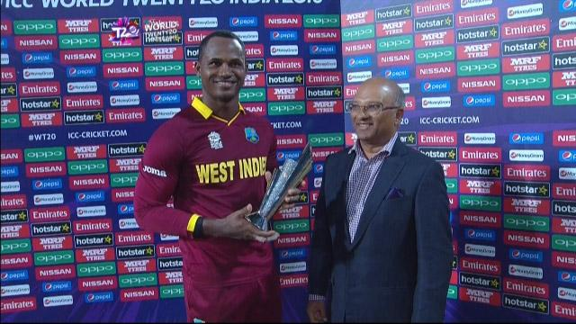 Player of the Match – Marlon Samuels – SA v WI