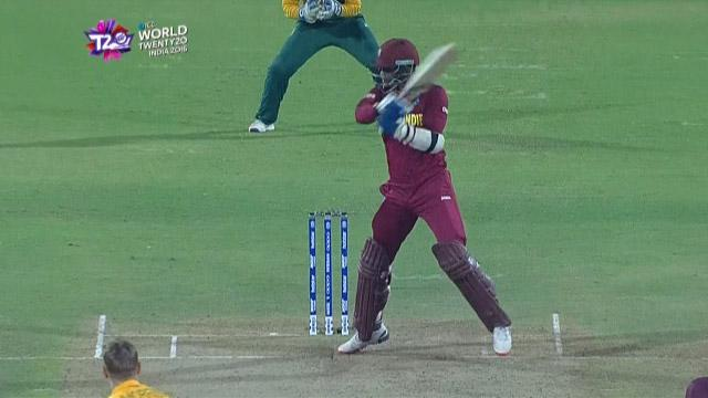 Cricket Highlights from West Indies Innings v South Africa ICC WT20 2016