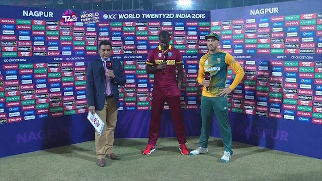 Match Presentation for SA V WI Match 27 ICC WT20 2016