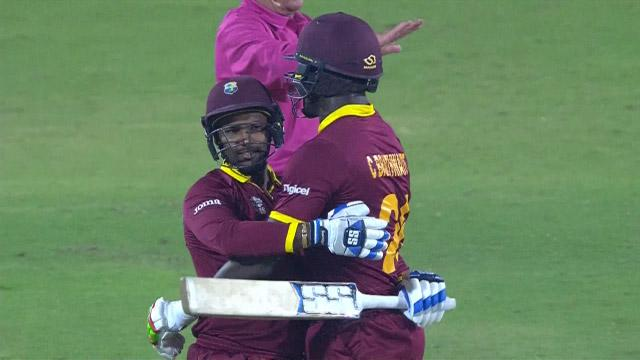 West Indies nervous win over South Africa thrilling final moments