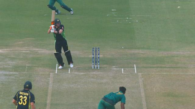 Smith's extraordinary shot!