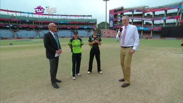 Australia wins Toss against Ireland Match 16 ICC Womens WT20 2016
