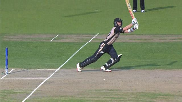 Kane Williamson Innings for New Zealand V Bangladesh Video ICC WT20 2016