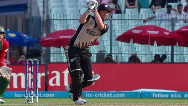 New Zealand Innings Super Shots v BAN ICC WT20 2016