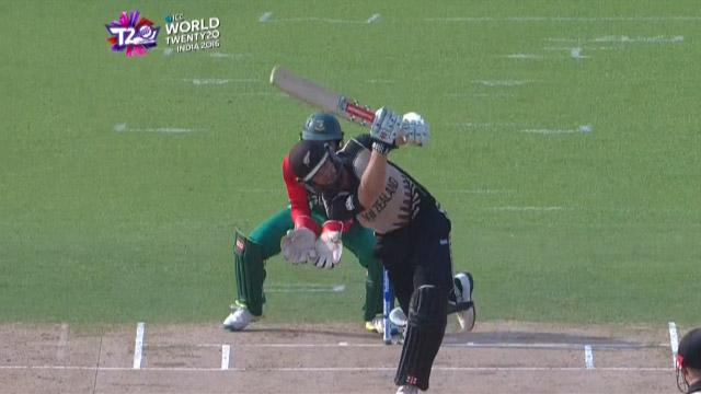 Cricket Highlights from New Zealand Innings v Bangladesh ICC WT20 2016