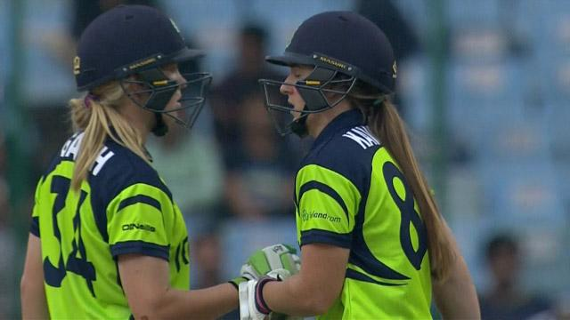 Cricket Highlights from Ireland Innings v Australia ICC Womens WT20 2016