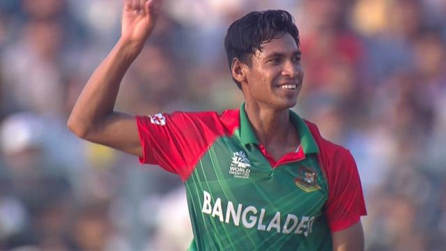 Mustafizur Rahman 5-22 for BAN V NZ ICC WT20 2016