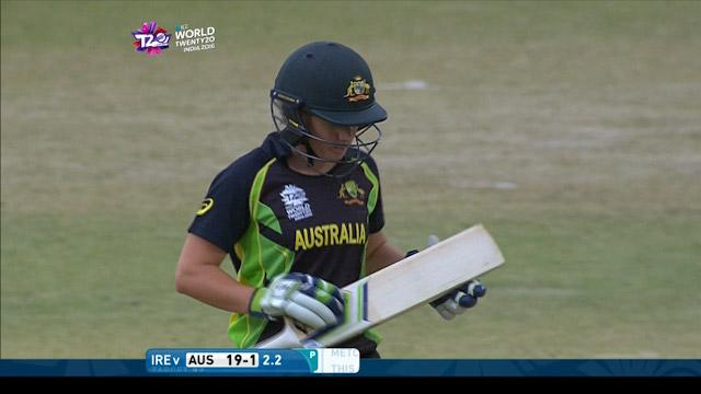 Alyssa Healy Wicket Fall AUS V IRE Video ICC Womens WT20 2016