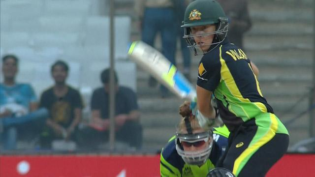 Australia Innings Super Shots v IRE ICC Womens WT20 2016
