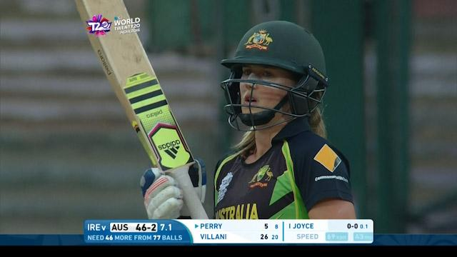 Ellyse Perry Match Hero for Bangladesh v PAK ICC Womens WT20 2016