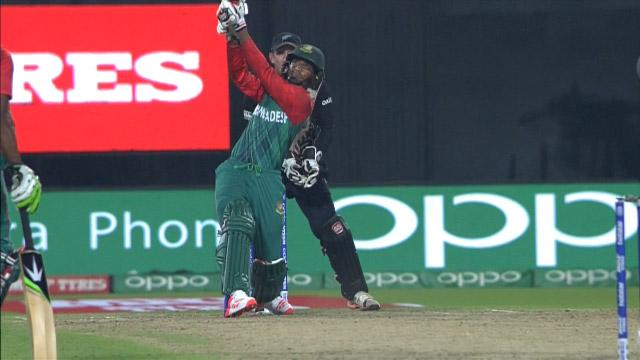 Bangladesh Innings Super Shots v NZ ICC WT20 2016