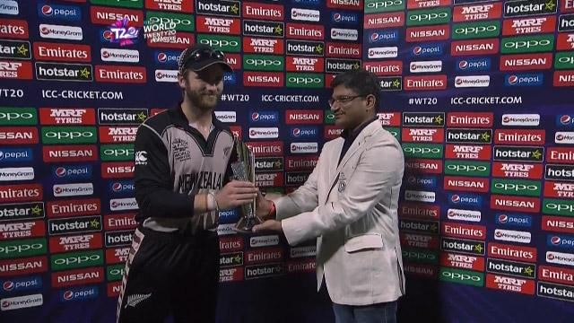 Player of the Match – Kane Williamson – BAN v NZ