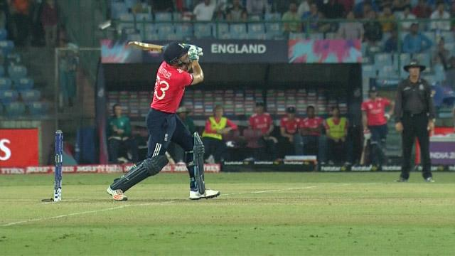 Buttler smashes massive 95 Metre Six!
