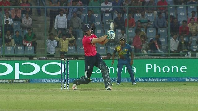 Buttler goes ballistic with massive Six!