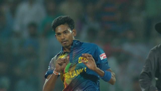 Buttler smashes rocket back at Chameera