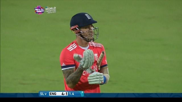 England wicket Losses v Sri Lanka Video ICC WT20 2016