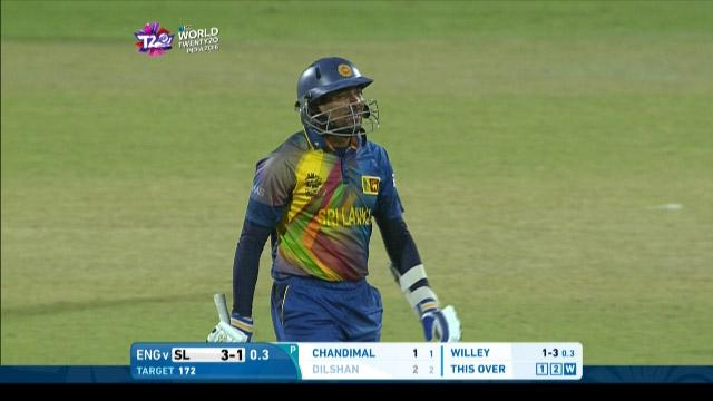 Tillakaratne Dilshan Wicket Fall SL V ENG Video ICC WT20 2016