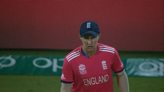 Root takes a screamer under huge pressure