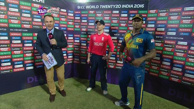 Match Presentation for SL V ENG Match 29 ICC WT20 2016