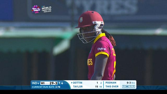 Stafanie Taylor Innings for West Indies V India Video ICC Womens WT20 2016