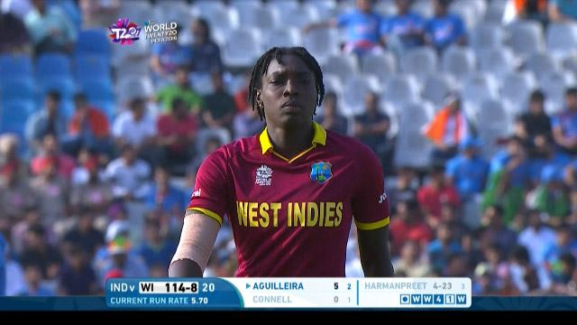 Shamilia Connell Wicket – WI v IND