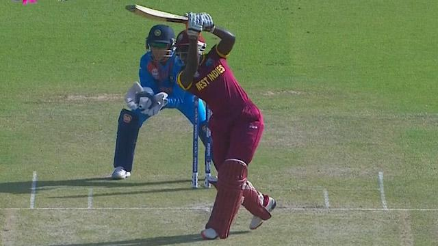 West Indies Innings Super Shots v IND ICC Womens WT20 2016