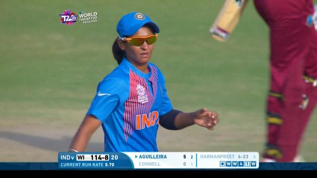 Magic final over in Windies v India Women