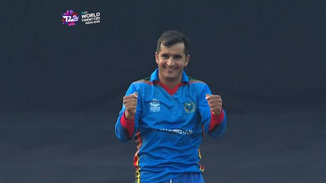 Afghanistan show their delight v West Indies