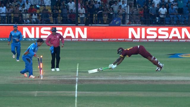 Shahzad's quick thinking pulls off amazing run-out!