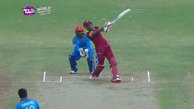 Cricket Highlights from West Indies Innings v Afganistan ICC WT20 2016