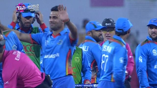 Afghanistan stuns West Indies to create history